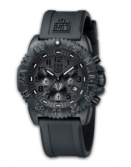 Reloj Luminox Navy SEAL Chrono Black Out 3081BO