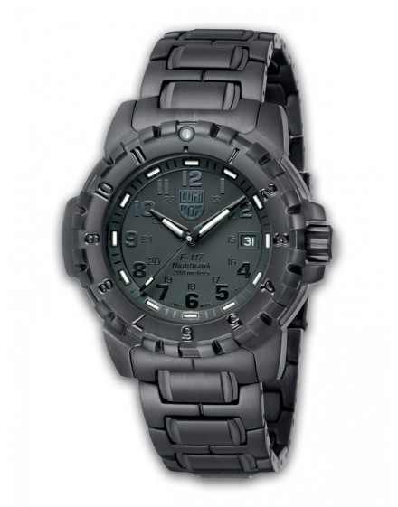 Reloj Luminox F-117 Nighthawk Black Out 6402BO
