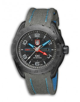 Reloj Luminox Aerospace Steel GMT LX5121