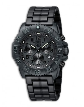 Reloj Luminox Navy SEAL Chrono Black Out LX3082BO