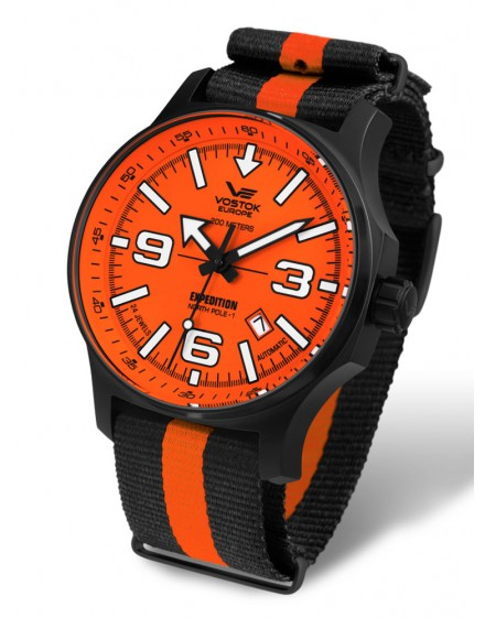 Reloj Vostok Europe Expedition North Pole 1 Manual Textil 5954197t