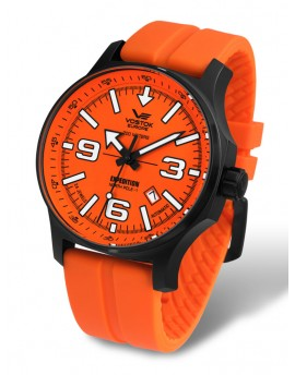 Reloj Vostok Europe Expedition North Pole 1 Automatic Caucho Naranja 5954197ro