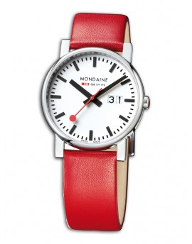 Reloj Mondaine SBB Evo Big 40 A627.30303.11SBC