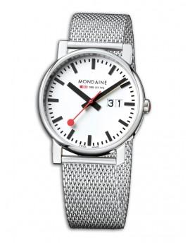 Reloj Mondaine SBB Evo Big 40 A627.30303.11SBM