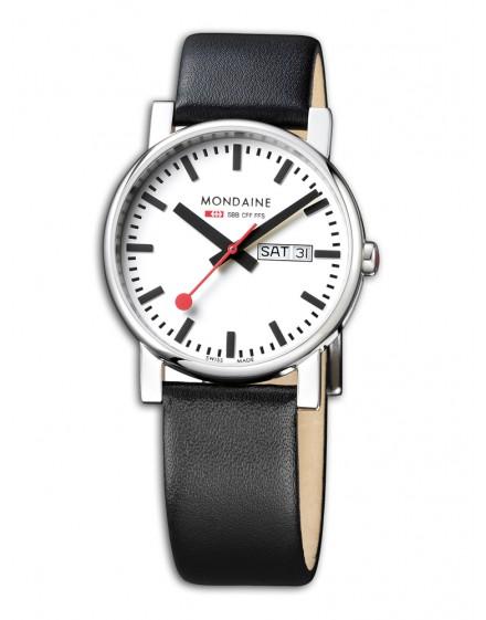 Reloj Mondaine SBB Evo Gents 38 Day-date A667.30344.11SBB