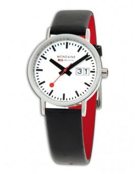 Reloj Mondaine SBB Classic Big Date A669.30008.16SBO