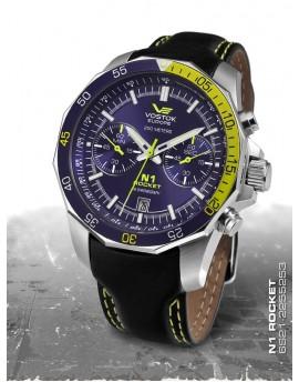 Reloj Vostok Europe Rocket N1 Chrono Piel 2255253