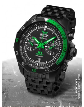 Reloj Vostok Europe Rocket N1 Chrono Armis 2254252b